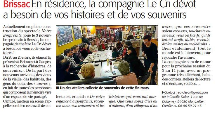 Midi Libre 3 avril 2017