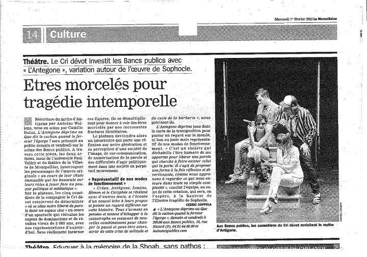 La Marseillaise / 5 février 2012