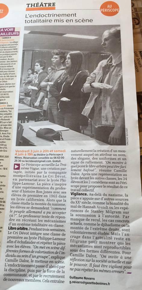 La Gazette de Nîmes / 2 juin 2016