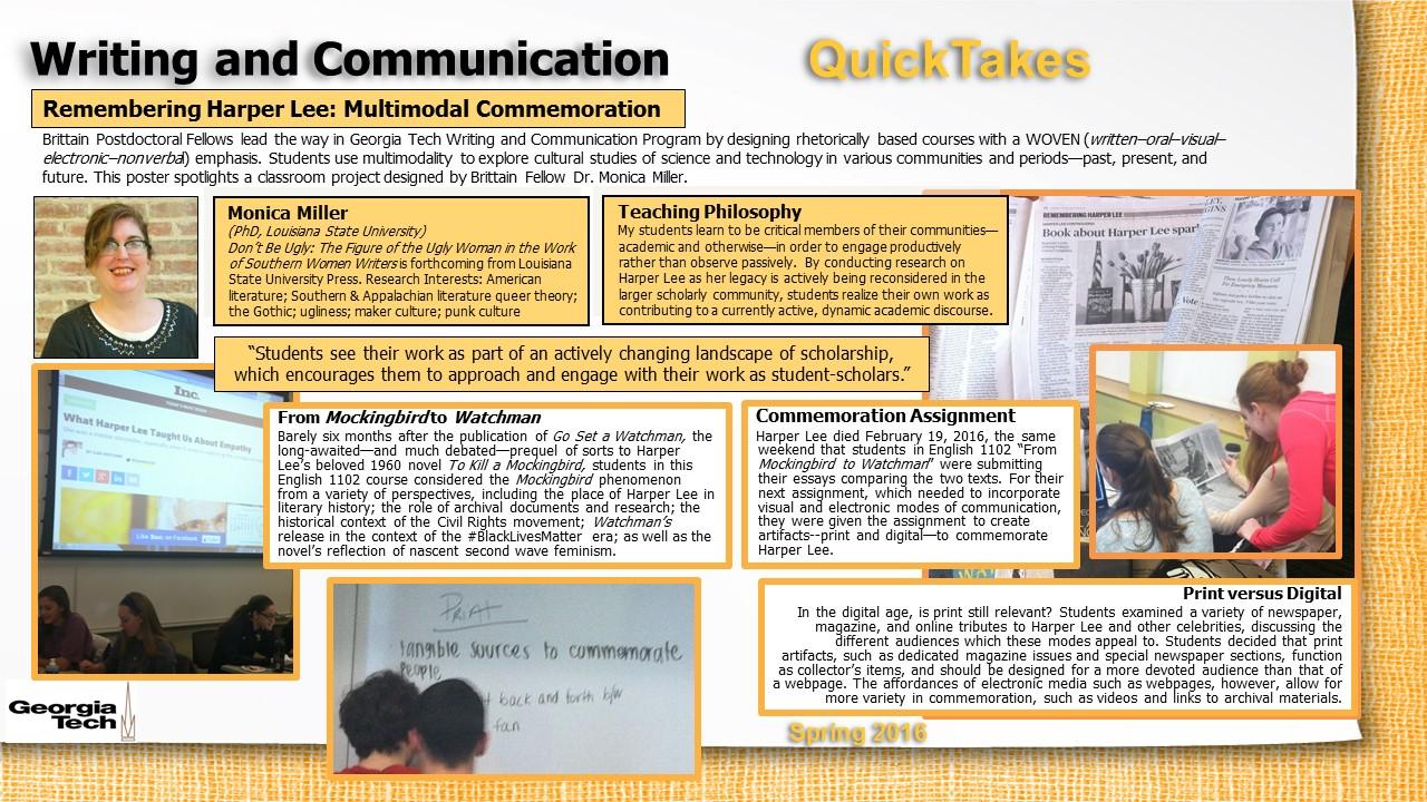 Miller-2016 Teaching Day Poster