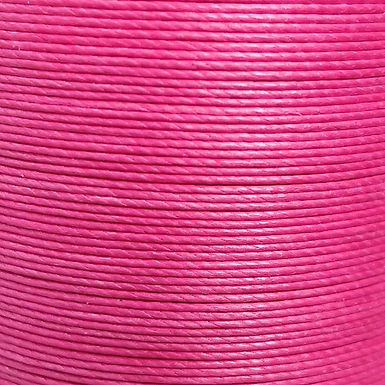 Meisi Waxed Linen Thread | Rose Red | MS038