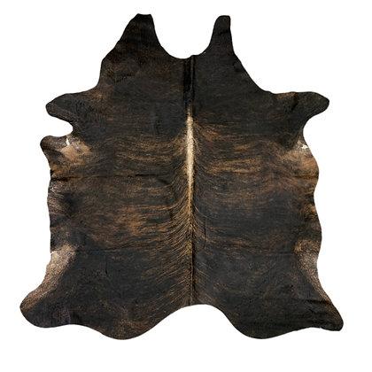 Cowhide Rug   Dark Brindle   L   10172