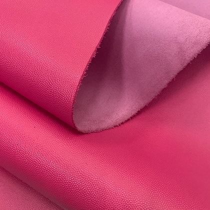 Caviar Leather | Hot Pink | 1sqft Panel