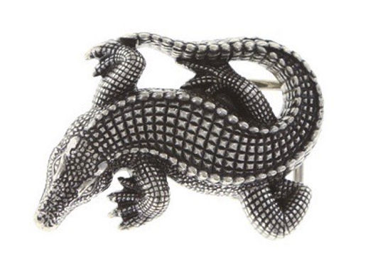 3D Belt Buckle | Crocodile Design