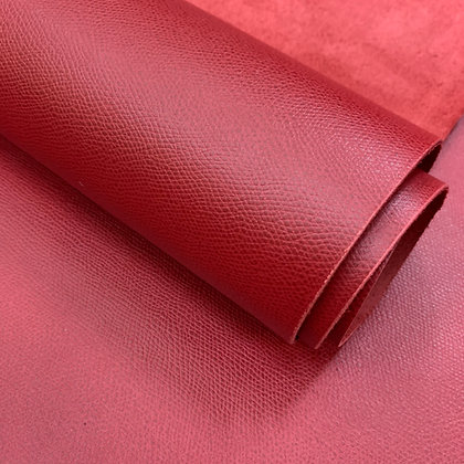 Epsom Calf Leather | Red | France