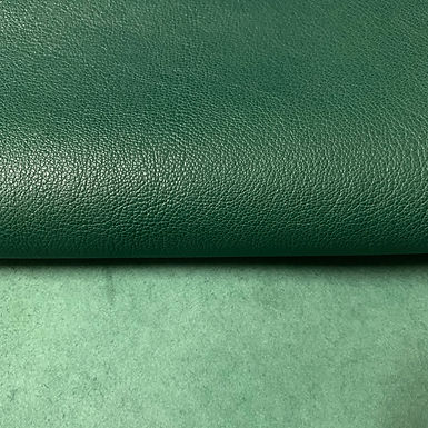 Italian Goat Leather | Dark Green