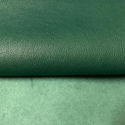 Italian Goat Leather   Dark Green