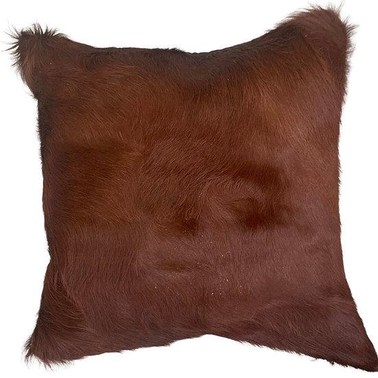 Cowhide Cushion | Soho  | Cognac