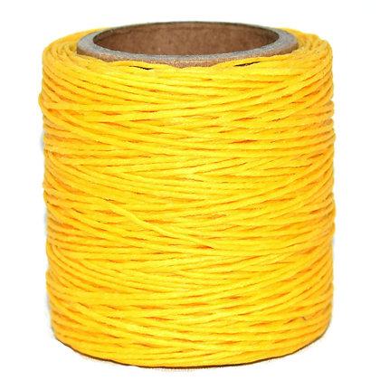 Waxed Polycord | Yellow | Maine Thread