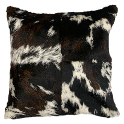 Cowhide Pillow | Tri Colour | 60cm x 60cm