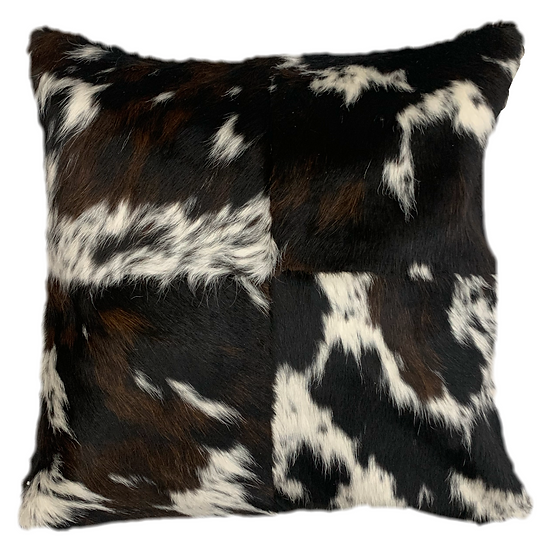 Cowhide Pillow | Tri Colour | 60cm x 60cm