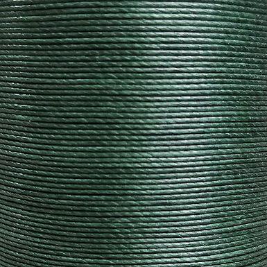 Meisi Superfine Waxed Linen Thread |  Dark Green | MS026