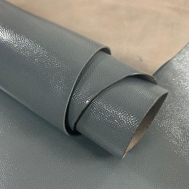 High Gloss Epsom Leather | Grey | Italy