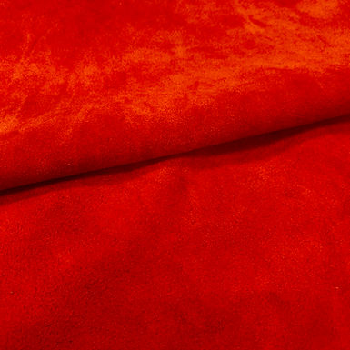 Suede Leather | Red | 1.2/1.4mm