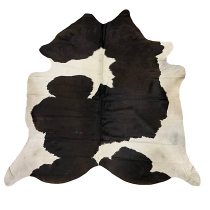 Cowhide Rug | Black and White | L | 10116