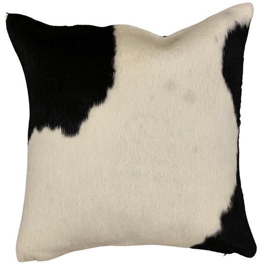 Cowhide Cushion | 40cm x 40cm | Black and White