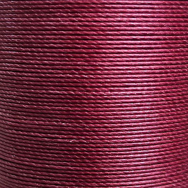 Meisi Superfine Waxed Linen Thread | Bordeaux | MS008