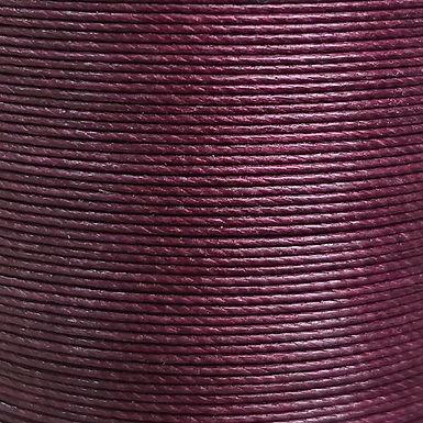 Meisi Waxed Linen Thread   Burgundy   MS051