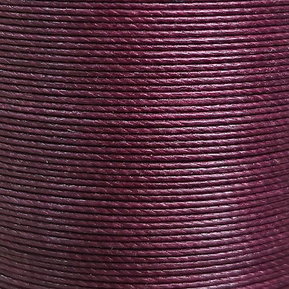 Superfine Waxed Linen Thread    Burgundy   MS051