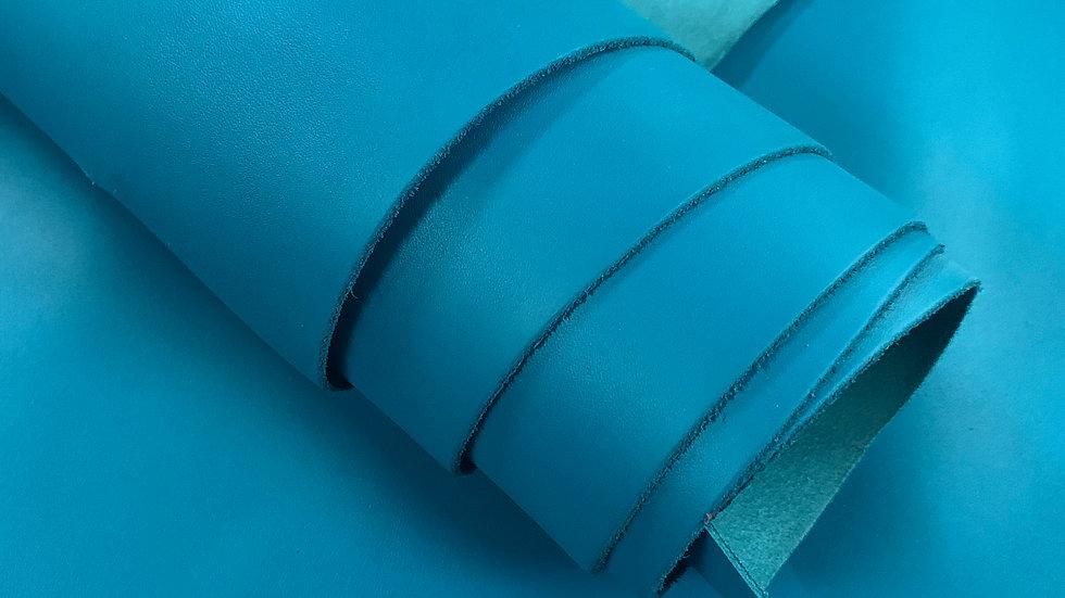 EPI Leather Smooth | Teal | Sample Panel