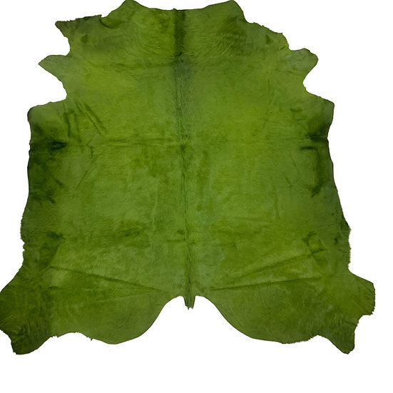 Italian Dyed Cowhides | Grass