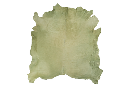 Italian Dyed Cowhides   Mint Green