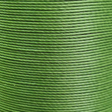 Meisi Superfine Waxed Linen Thread |  Grass Green | MS027