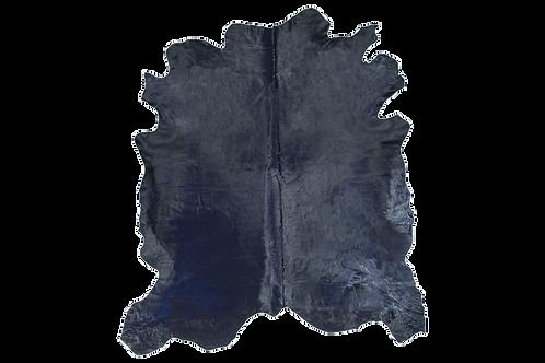 Italian Dyed Cowhide Rug | Dark Navy
