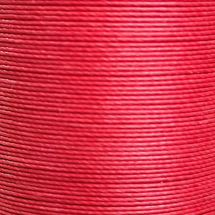 Meisi Superfine Waxed Linen Thread | Strawberry | MS011