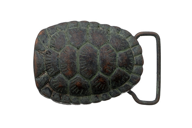 3D Belt Buckle | Turtle Shell Design