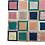 Thumbnail: Leather Rug | 210cm x 240cm | Multicolour