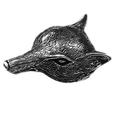3D Belt Buckle | Wolf Head Design
