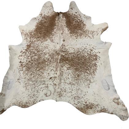 Cowhide Rug   Brown Speckle   XL   10090