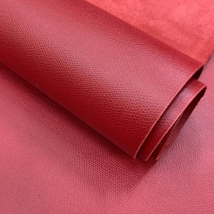 Epsom Calf Leather   Red