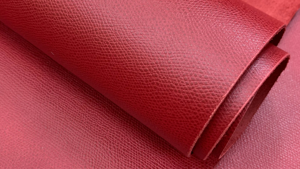Epsom Calf Leather | Red
