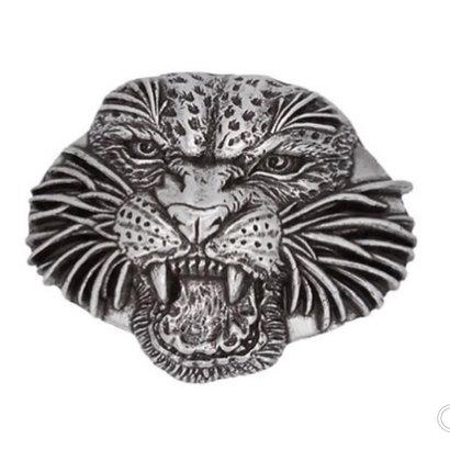 3D Belt Buckle   Jaguar Head Design