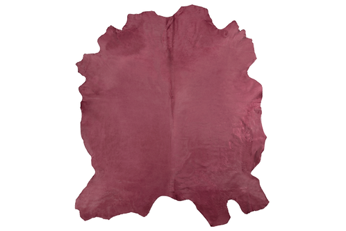 Italian Dyed Cowhides | Antique Rose