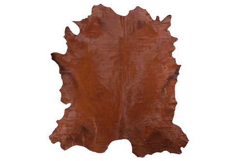 Italian Dyed Cowhides | Cognac