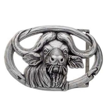 3D Belt Buckle   Buffalo Head Design