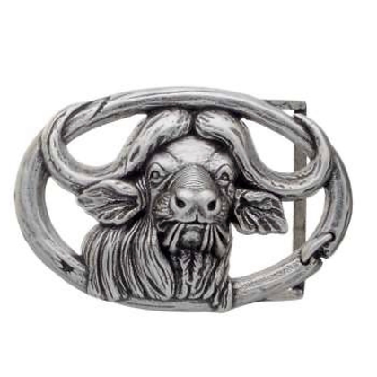 3D Belt Buckle | Buffalo Head Design