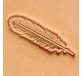 Tandy Leather | Feather 3-D Stamp | 88502-00