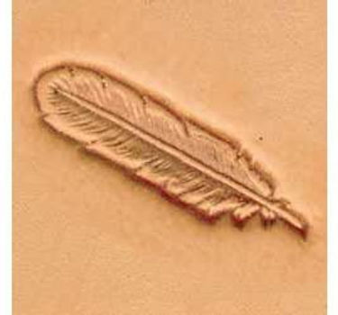 Tandy Leather   Feather 3-D Stamp   88502-00
