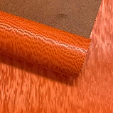 EPI Leather Straw Grain    Orange