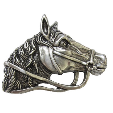 3D Belt Buckle | Horse Head Design