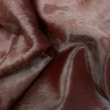 Horsey |  Dyed Cowhide | Claret