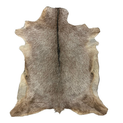 Goat Hide Rugs   Natural Pattern   10270