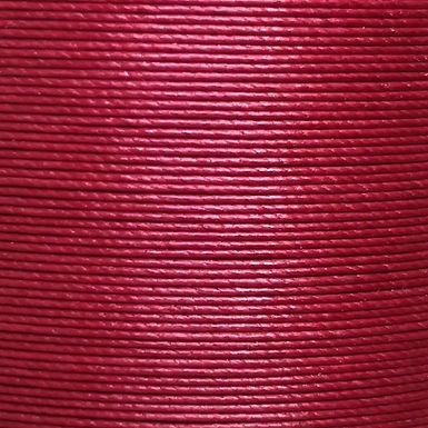 Superfine Waxed Linen Thread | Dark Red | MS085