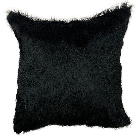 Cowhide Cushion   Soho   Black
