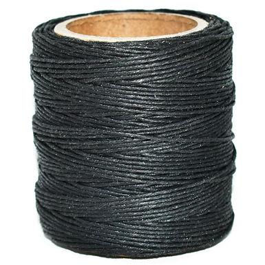 Waxed Polycord | Black | Maine Thread