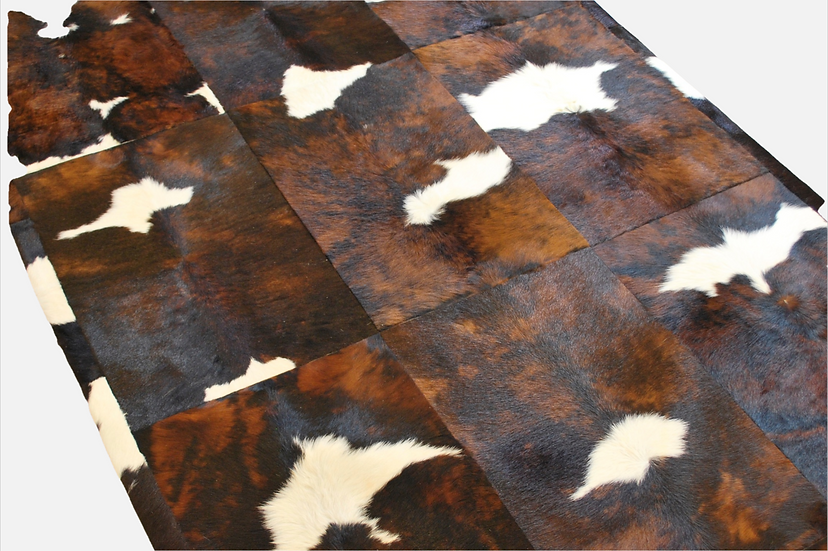 Cowhide Design Rug | Soho Natural Calf Hide